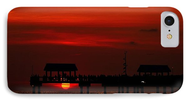 Watching The Sunset IPhone Case by Richard Zentner