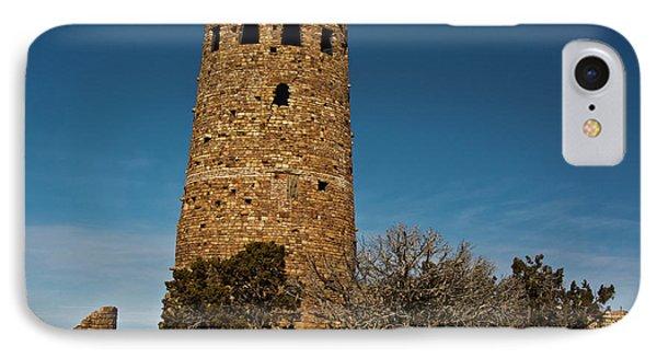 Watchtower, Desert View, South Rim IPhone Case by Michel Hersen