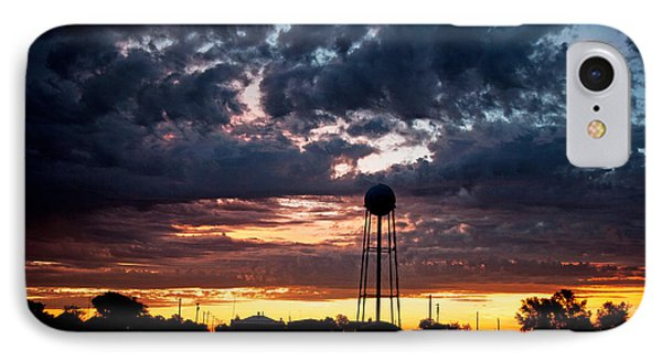 Watchtower IPhone Case by Shirley Heier