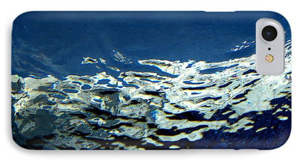 IPhone Case featuring the photograph Water Abstract 3 by Mary Bedy