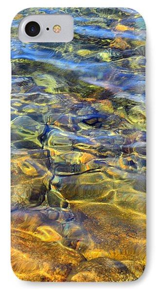 Water Abstract IPhone Case by Lynda Lehmann