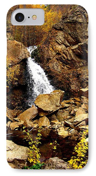 IPhone Case featuring the photograph Water Always Gets Through by Kathy Bassett