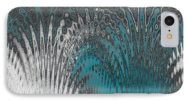 Water And Ice - Blue Splash IPhone Case by Ben and Raisa Gertsberg
