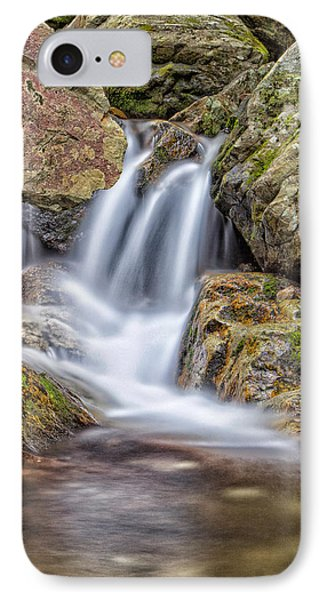 IPhone Case featuring the photograph Water And Stone by Alan Raasch