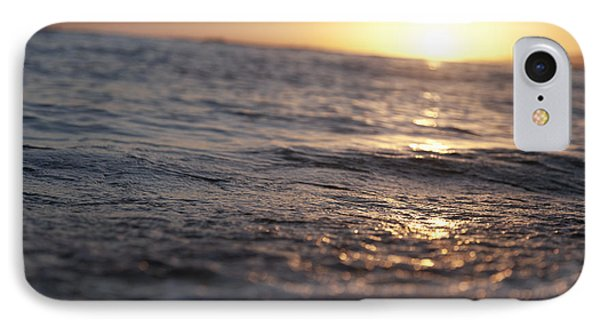 Water At Sunset Phone Case by Brandon Tabiolo