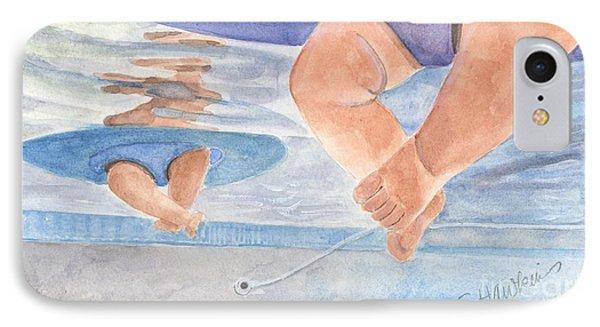 Water Babies Phone Case by Sheryl Heatherly Hawkins
