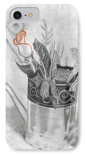 Water Can Bouquet IPhone Case