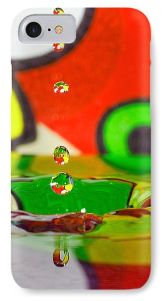 IPhone Case featuring the photograph Water Dew by Peter Lakomy