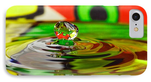 IPhone Case featuring the photograph Water Drop by Peter Lakomy