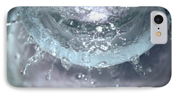 Water Drops On Glass IPhone Case by J Riley Johnson