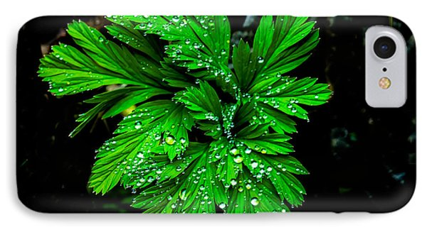 Water Drops Phone Case by Robert Bales