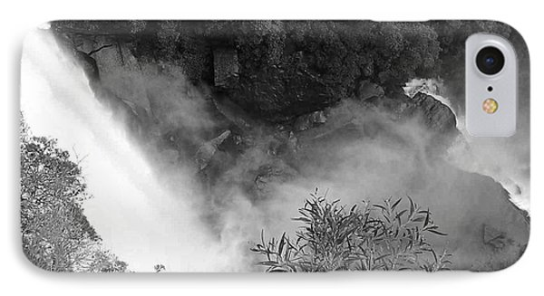 Water Fall And Bushland Phone Case by Cheryl Miller
