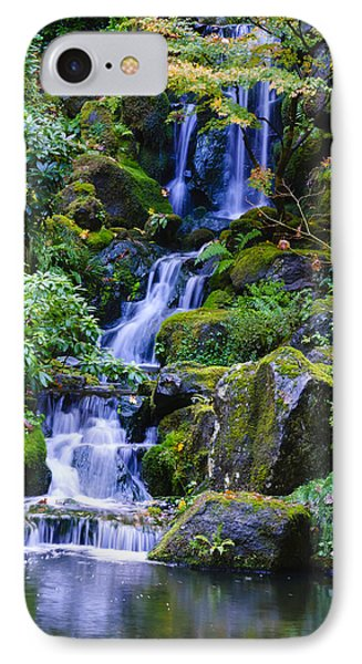 Water Fall Phone Case by Dennis Reagan