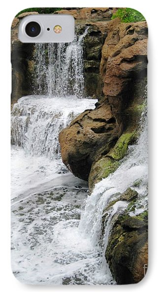 IPhone Case featuring the photograph Water Fall by Judy Palkimas