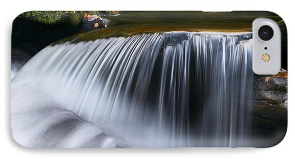 Water Falling Great Smoky Mountains Phone Case by Rich Franco