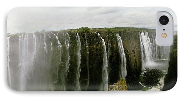 Water Falling Into A River, Victoria IPhone Case by Panoramic Images