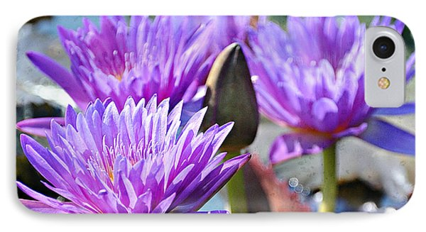 IPhone Case featuring the photograph Water Flower 1006 by Marty Koch