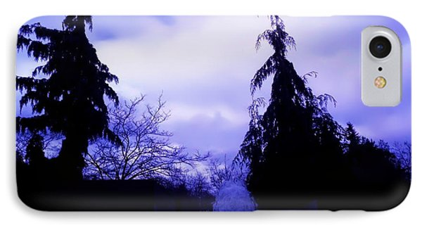 Water Fountain At Alderwood Business Center In Lynnwood Washington IPhone Case by Eddie Eastwood