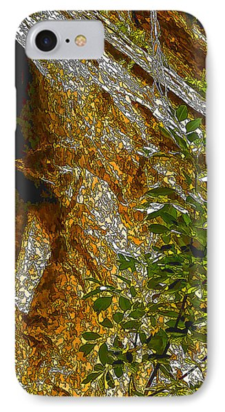 Water From Rock-dp IPhone Case by Nancy Marie Ricketts
