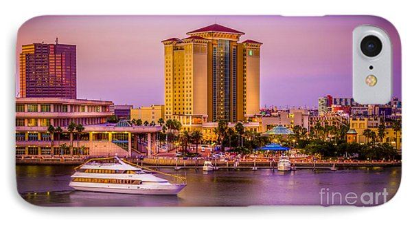 Water Front Tampa Phone Case by Marvin Spates