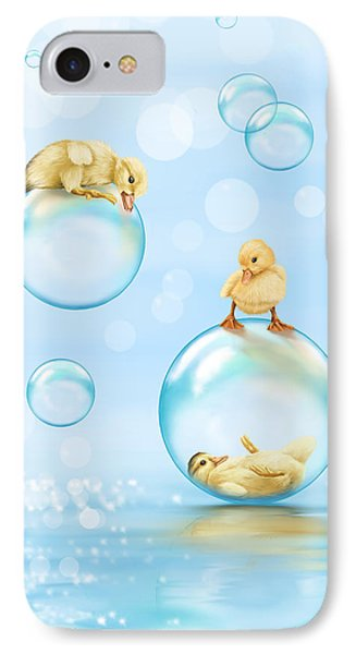 Water Games IPhone Case by Veronica Minozzi