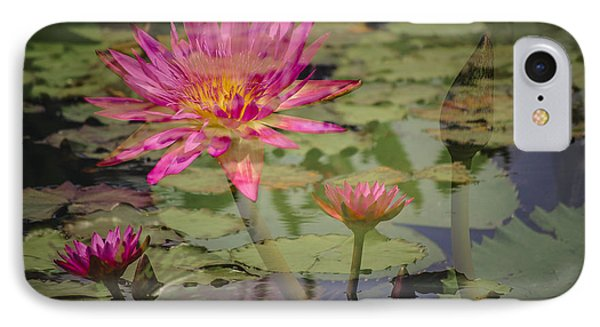 Water Garden Dream IPhone Case by Penny Lisowski