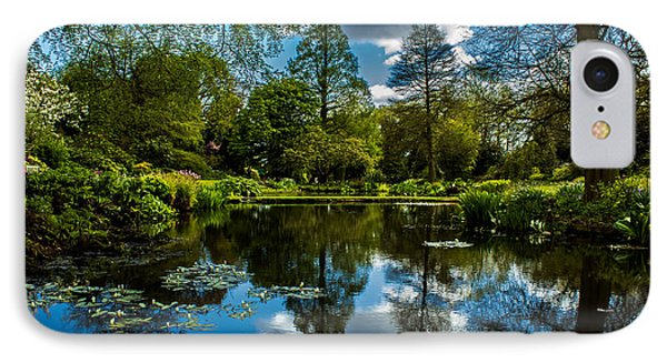 Water Garden IPhone Case by Martin Newman