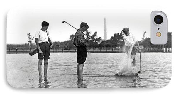 Water Hazard On Golf Course IPhone 7 Case