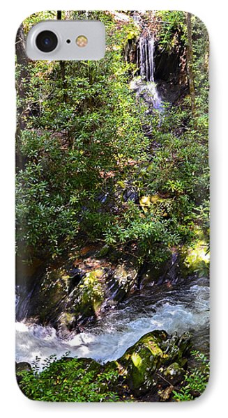 Water In The Forest Phone Case by Susan Leggett