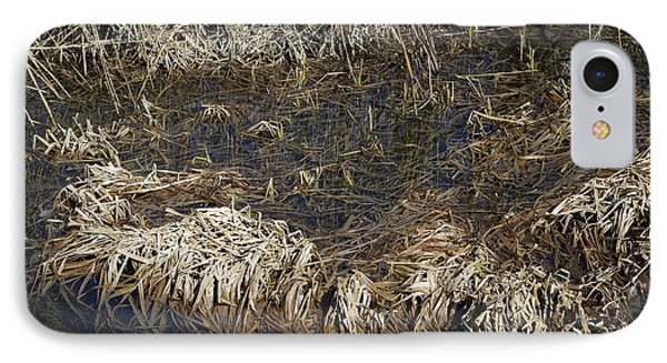 Dried Grass In The Water IPhone Case by Teo SITCHET-KANDA