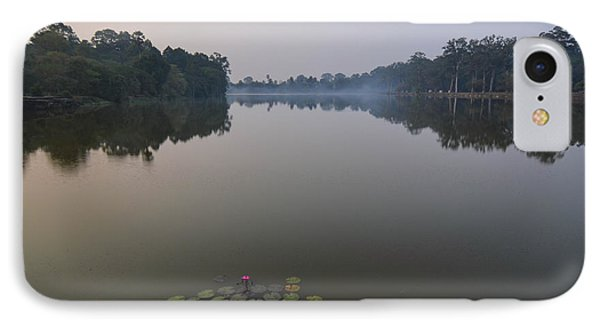 Water Lilies At Dawn IPhone Case by Bill Mock