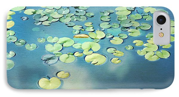 Water Lilies Phone Case by Darren Fisher