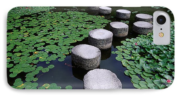 Water Lilies In A Pond, Helan Shrine IPhone Case