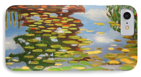Water Lilies IPhone Case by Karyn Robinson