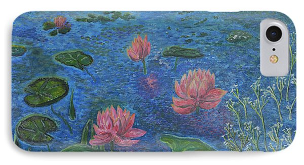 Water Lilies Lounge 2 Phone Case by Felicia Tica