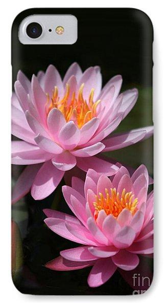 Water Lilies Love The Sun Phone Case by Sabrina L Ryan