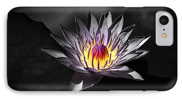 Water Lilly In Hdr IPhone Case by Michael White