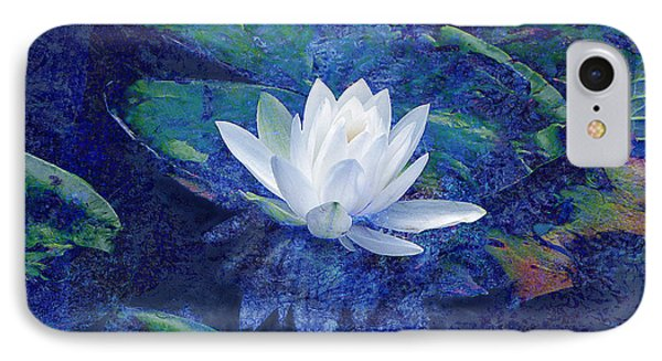 Water Lily Phone Case by Ann Powell