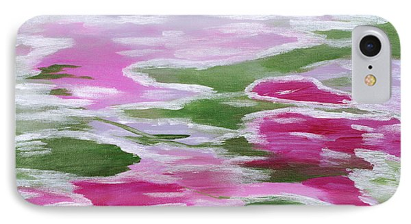 Water Lily Phone Case by Donna Blackhall