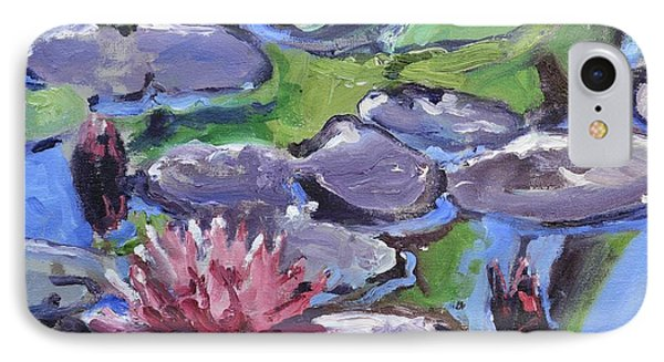 Water Lily Phone Case by Donna Tuten