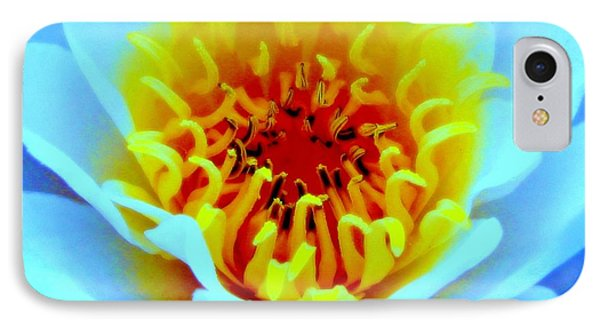 IPhone Case featuring the photograph Water Lily Glow by Margaret Newcomb
