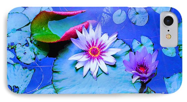 Water Lily I IPhone Case by Ann Johndro-Collins