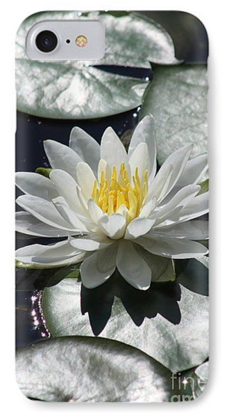 IPhone Case featuring the photograph Water Lily II by Anita Oakley