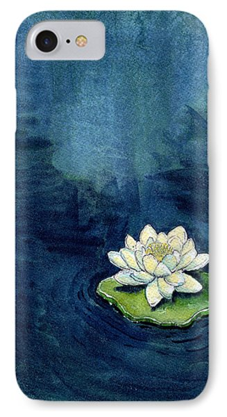 Water Lily IPhone Case by Katherine Miller