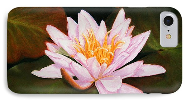 Water Lily IPhone Case by Marna Edwards Flavell