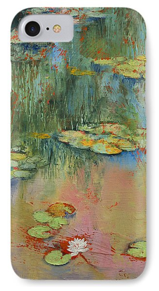 Water Lily IPhone Case by Michael Creese