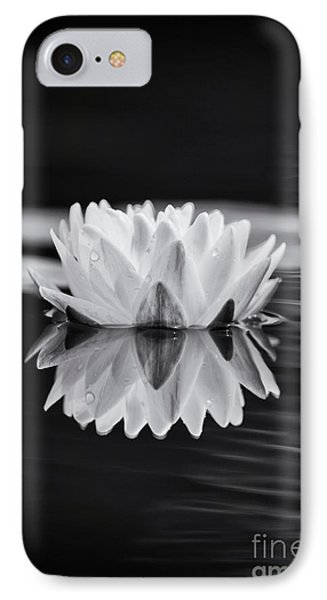 Water Lily Reflection IPhone Case