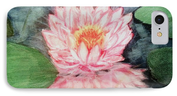 Water Lily IPhone Case by Renee Michelle Wenker