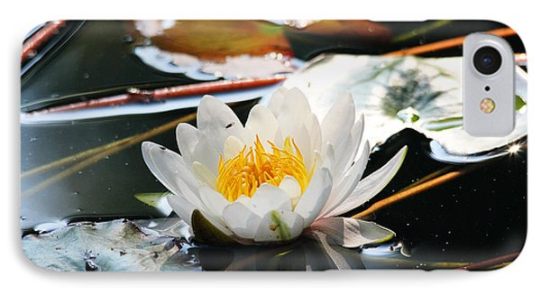 IPhone Case featuring the photograph Water Lily by Trina  Ansel