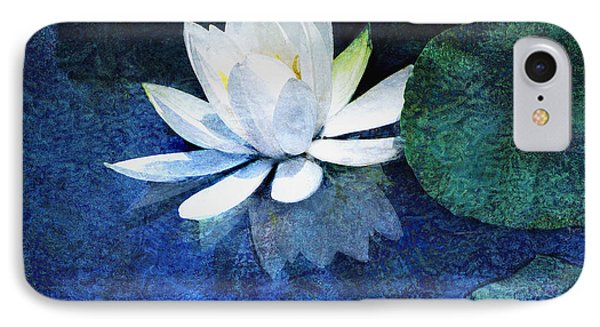 Water Lily Two Phone Case by Ann Powell